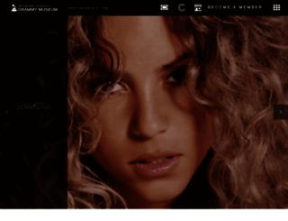 grammymuseum.org screenshot