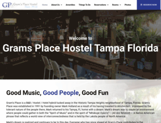 grams-inn-tampa.com screenshot