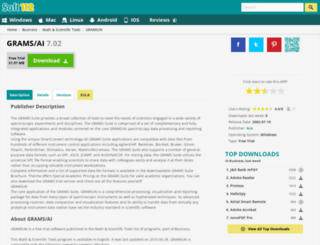 grams-or-ai.soft112.com screenshot