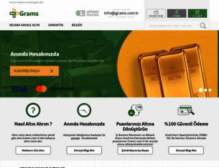 grams.com.tr screenshot