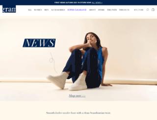 gramshoes.com screenshot