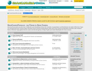 gran-canaria-forum.de screenshot