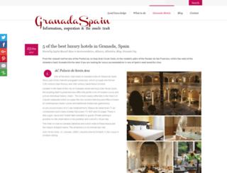 granada-hotels.co.uk screenshot