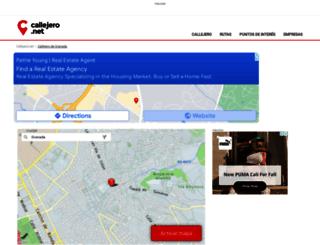 granada.callejero.net screenshot