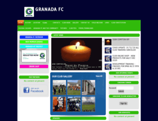 granadafc.com screenshot