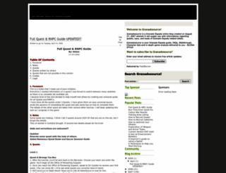 granadosource.blogspot.com screenshot