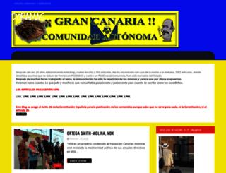 grancanaria-doramas.blogspot.com.es screenshot