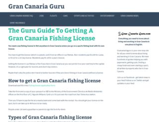 grancanariaguru.com screenshot
