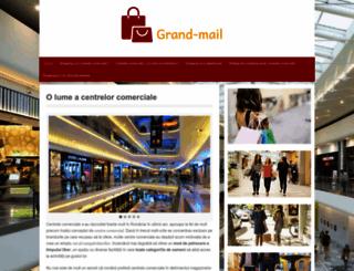 grand-mall.ro screenshot