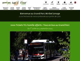 grand-parc.fr screenshot