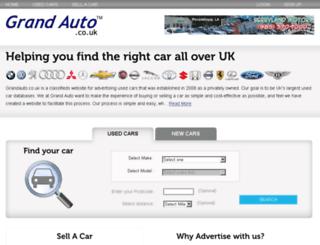grandauto.co.uk screenshot