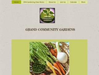 grandcommunitygardens.org screenshot