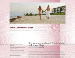 grandcoralrivieramayadotcom.wordpress.com screenshot