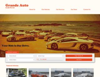 grandeauto.com.sg screenshot