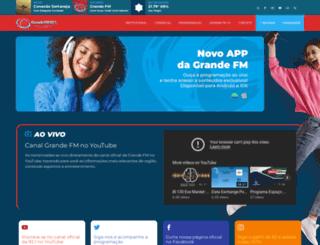 Access grandefm.com.br. Rádio Grande FM 92 0d3b372ea7ef5