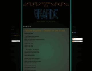 grandemagazine.blogspot.com screenshot