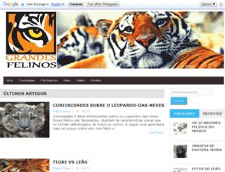 grandesfelinos.com screenshot