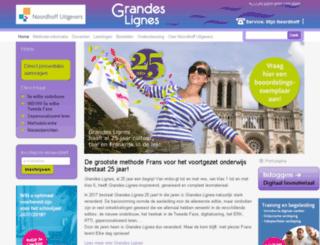grandeslignes.wolters.nl screenshot