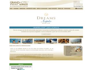 grandhotelacapulco.com screenshot