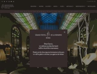 grandhoteldelaminerve.com screenshot