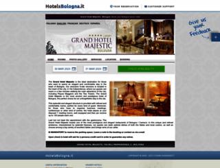 grandhotelmajestic.hotelsbologna.it screenshot
