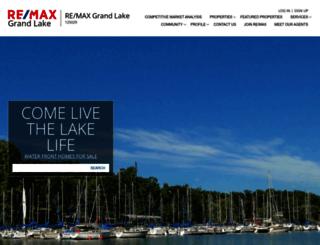 grandlake.remax-oklahoma.com screenshot