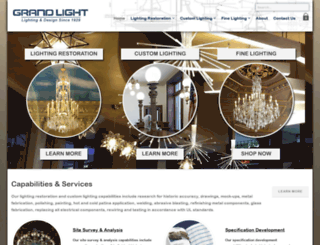 grandlight.com screenshot