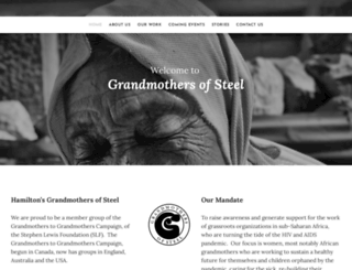 grandmothersofsteel.com screenshot