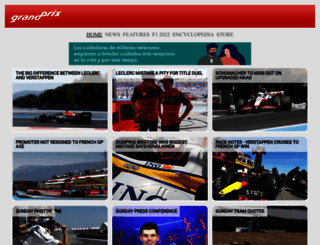 grandprix.com screenshot