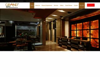 grandresidency.com screenshot