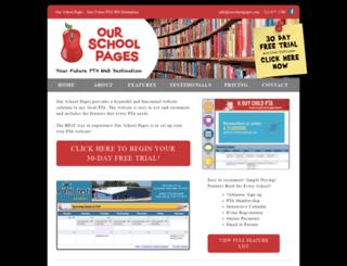 grandridge.ourschoolpages.com screenshot