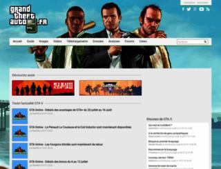 grandtheftauto5.fr screenshot