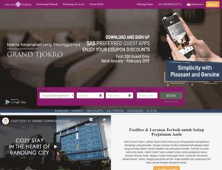 grandtjokro.com screenshot