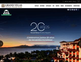 grandvelas.com.mx screenshot