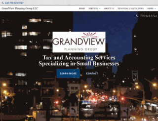 grandviewplanninggroup.com screenshot