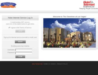 grandviewvegas.hotelwifi.com screenshot
