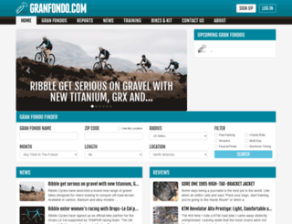 granfondo.com screenshot