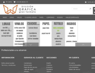 granformato.multiimprenta.es screenshot