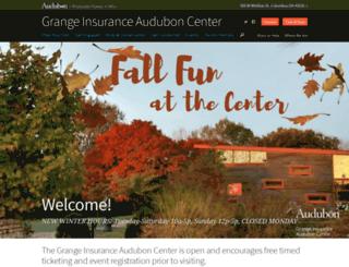 grange.audubon.org screenshot