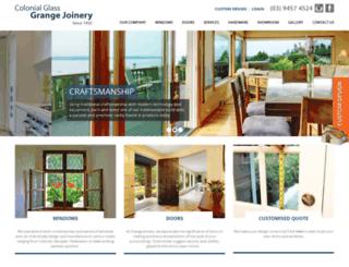grangejoinery.com.au screenshot