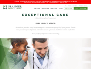 grangermedical.com screenshot