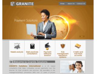 granite-si.co.uk screenshot