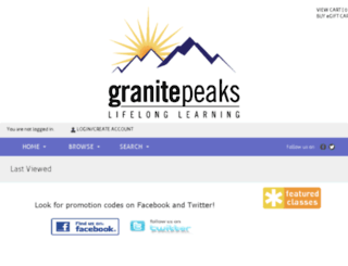 granite.augusoft.net screenshot