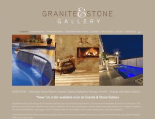 graniteandstonegallery.com.au screenshot