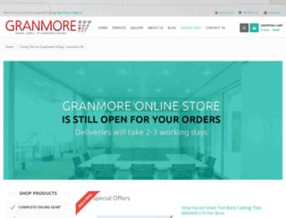 granmoresuspendedceilings.com screenshot