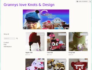 grannysloveknots.storenvy.com screenshot