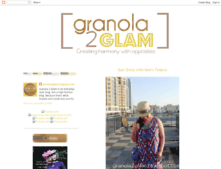 granola2glam.blogspot.de screenshot