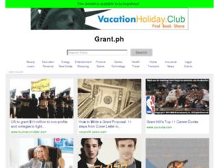 grant.ph screenshot