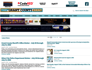 grantcountybeat.com screenshot