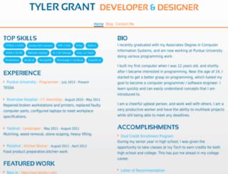 grantcr.com screenshot